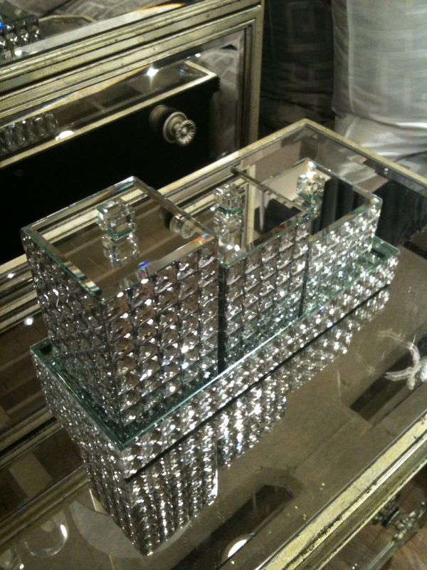Best 25 Best Ideas About Bling Bathroom On Pinterest Glass This Month