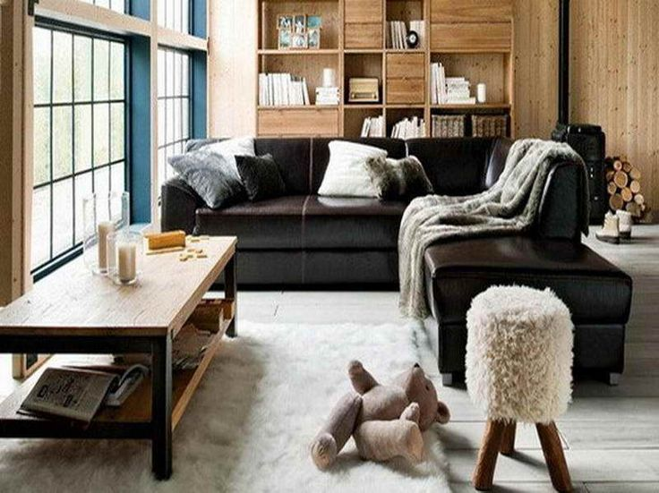 Best Black Leather Furniture Decorating Ideas Cottage Style This Month