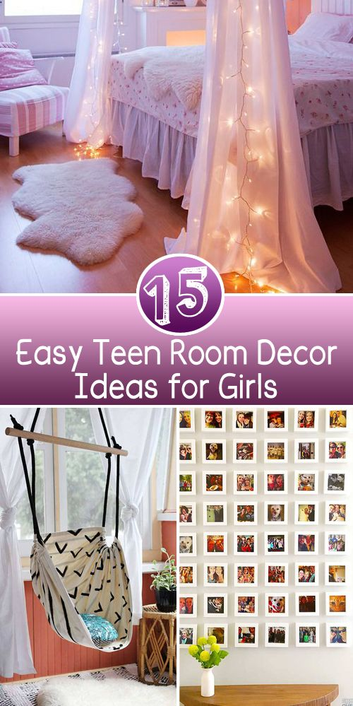 Best 15 Easy T**N Room Decor Ideas For Girls Projects Make This Month