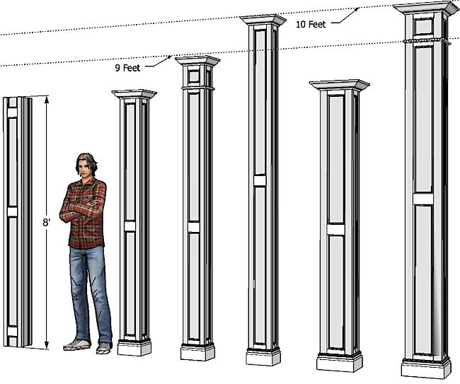 Best 1000 Ideas About Interior Columns On Pinterest Wood This Month