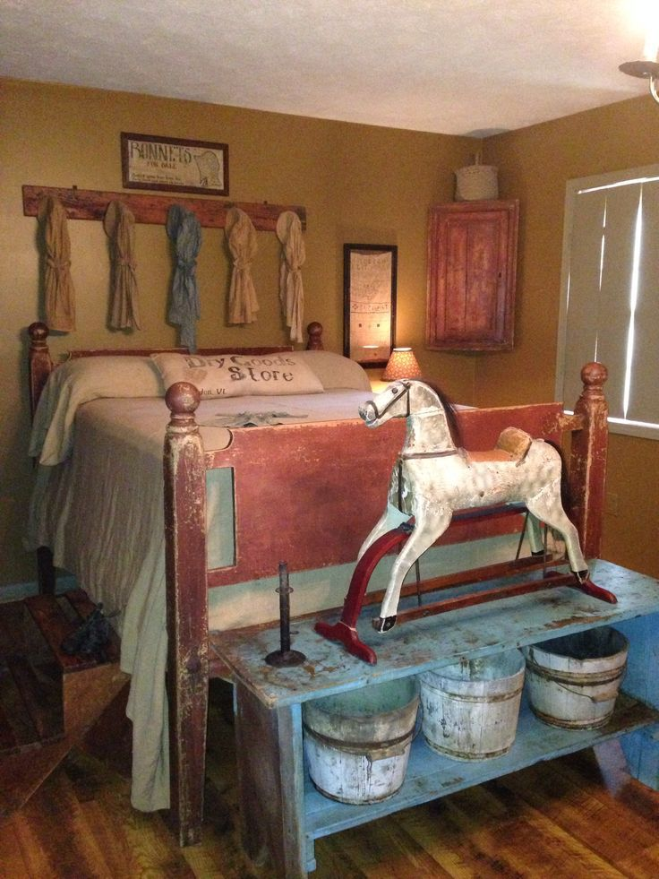 Best 25 Primitive Country Bedrooms Ideas On Pinterest This Month