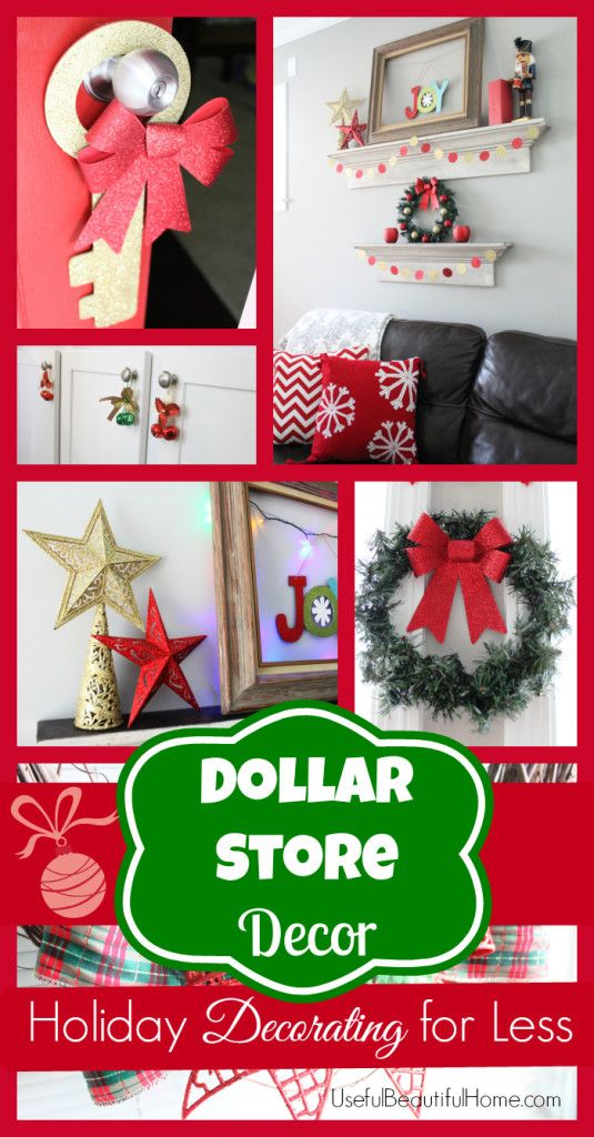 Best Dollar Store Decor Christmas Pinterest Christmas This Month