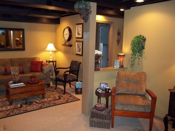 Best Ceiling Painting Dark Color Utility Lights Basement On A This Month
