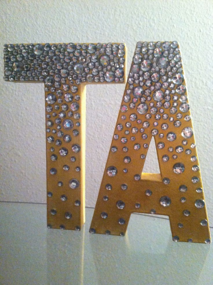 Best Custom 3D Decorative Letters By Funcraftsbymichelle On This Month