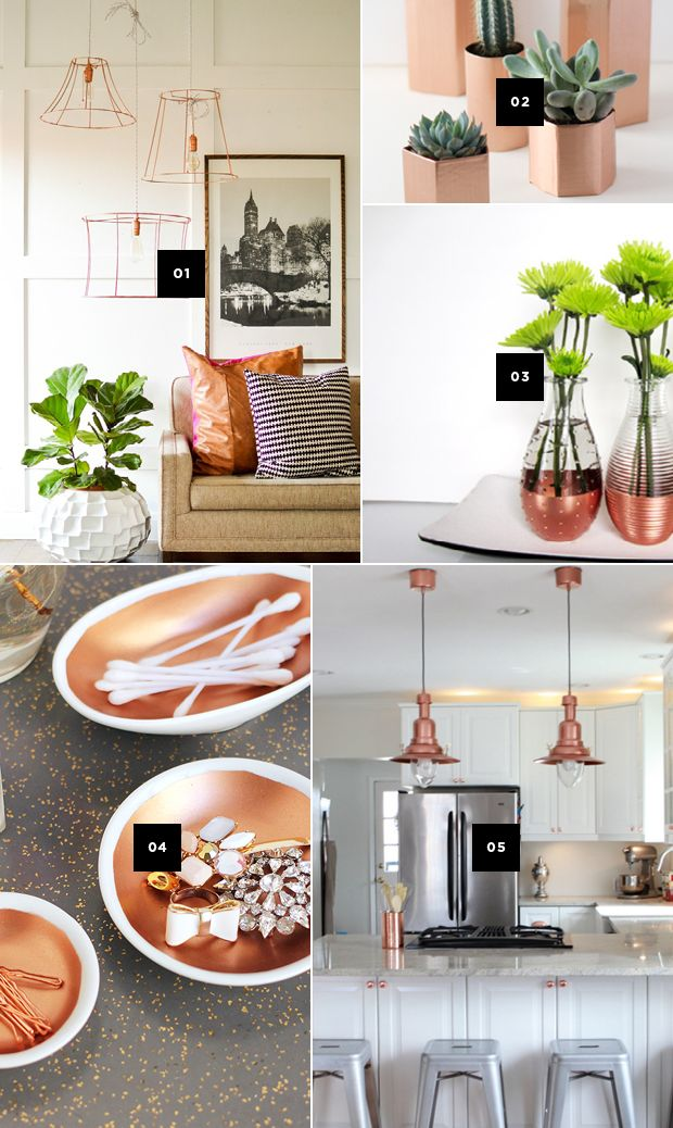 Best 5 Diy Ways To Add Copper Accents To Your Home And A This Month