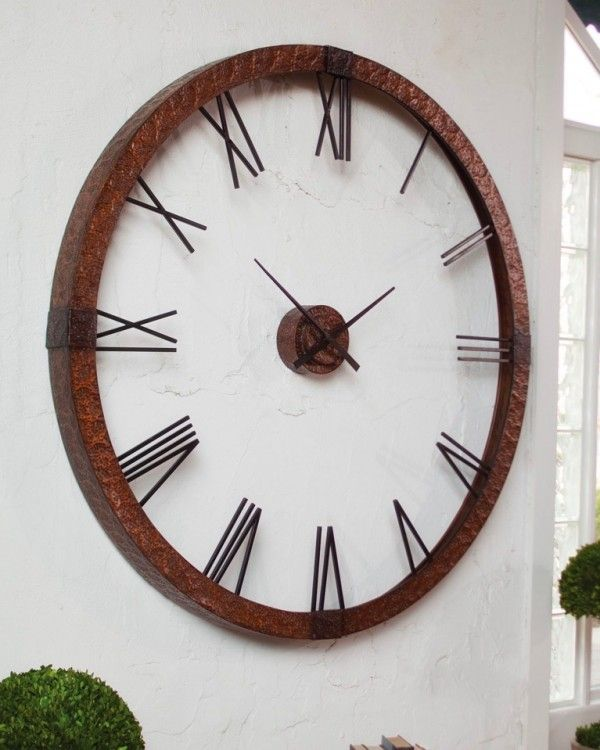 Best 1000 Ideas About Extra Large Wall Clock On Pinterest This Month
