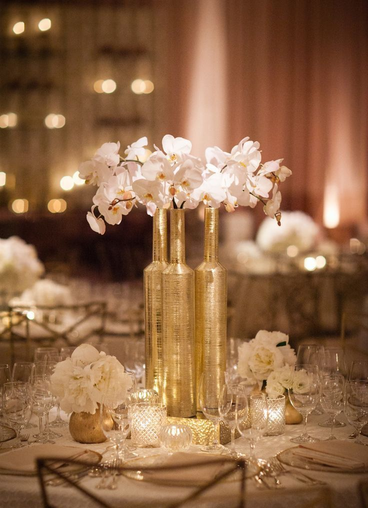 Best Gold Centerpieces Gold And Black Feathers On Pinterest This Month