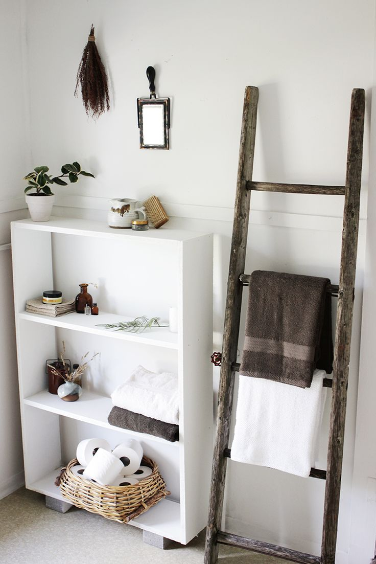 Best 17 Best Ideas About Ladder Towel Racks On Pinterest This Month