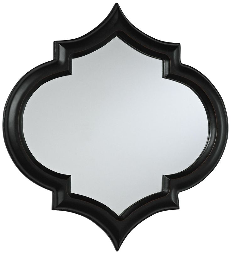 Best Corinth 18 High Black Decorative Wall Mirror This Month