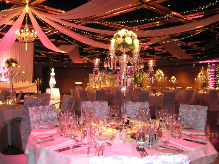 Best Intercontinental Adelaide Ballroom Pink And White Theme This Month