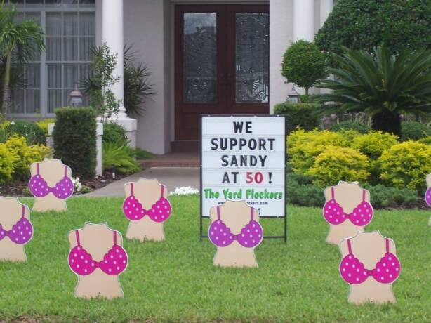 Best 81 Best Images About Birthday Lawn Signs On Pinterest This Month