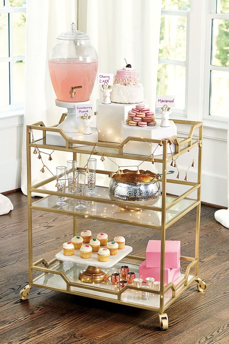 Best 25 Best Ideas About Tea Cart On Pinterest Gold Bar Cart This Month