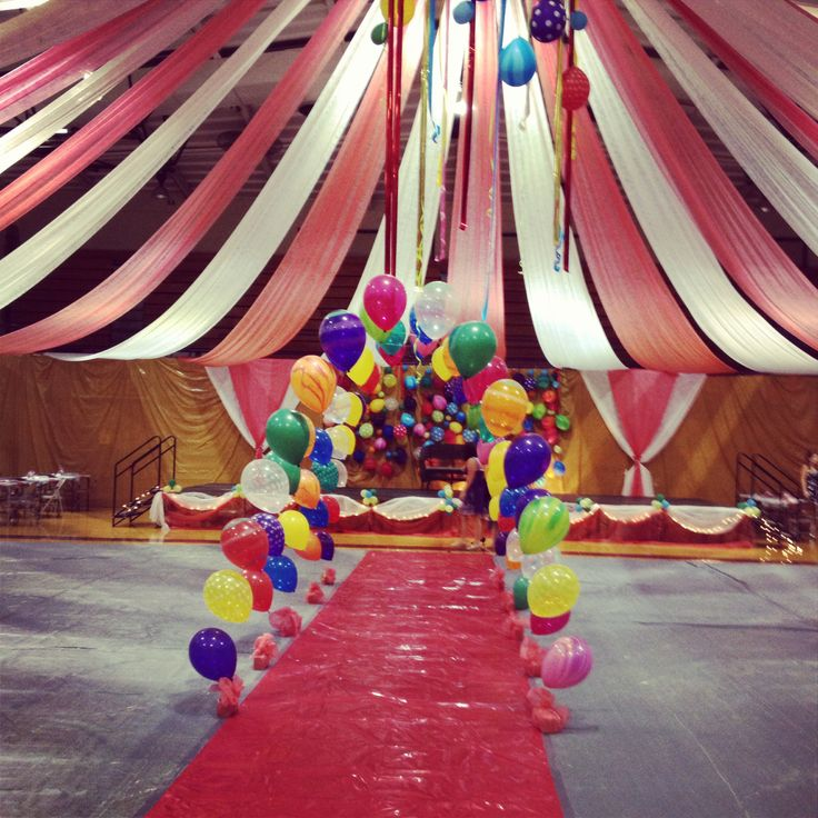 Best Under The Big Top Dance Homecoming Prom Decorations This Month