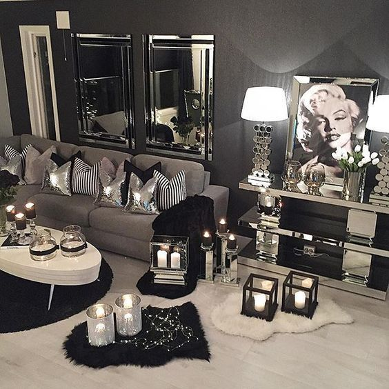 Best 25 Silver Living Room Ideas On Pinterest Grey This Month