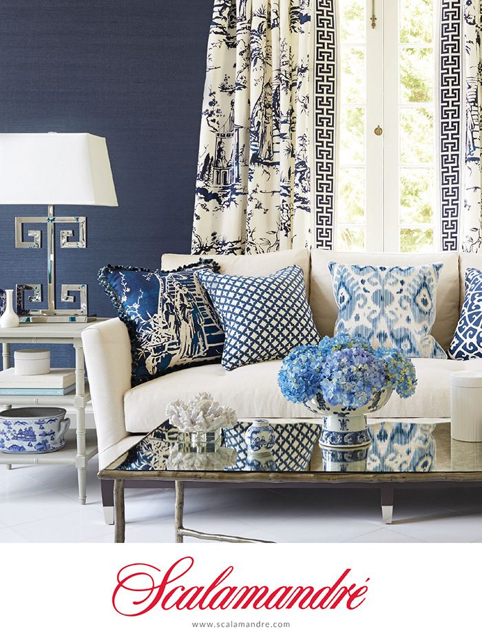Best 25 Best Ideas About Blue And White Curtains On Pinterest This Month