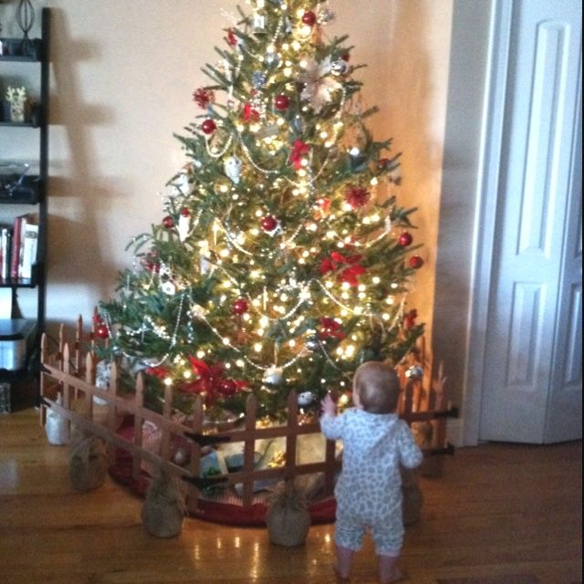 Best Keep Christmas Tree Away From Baby My Diy Christmas Tree This Month