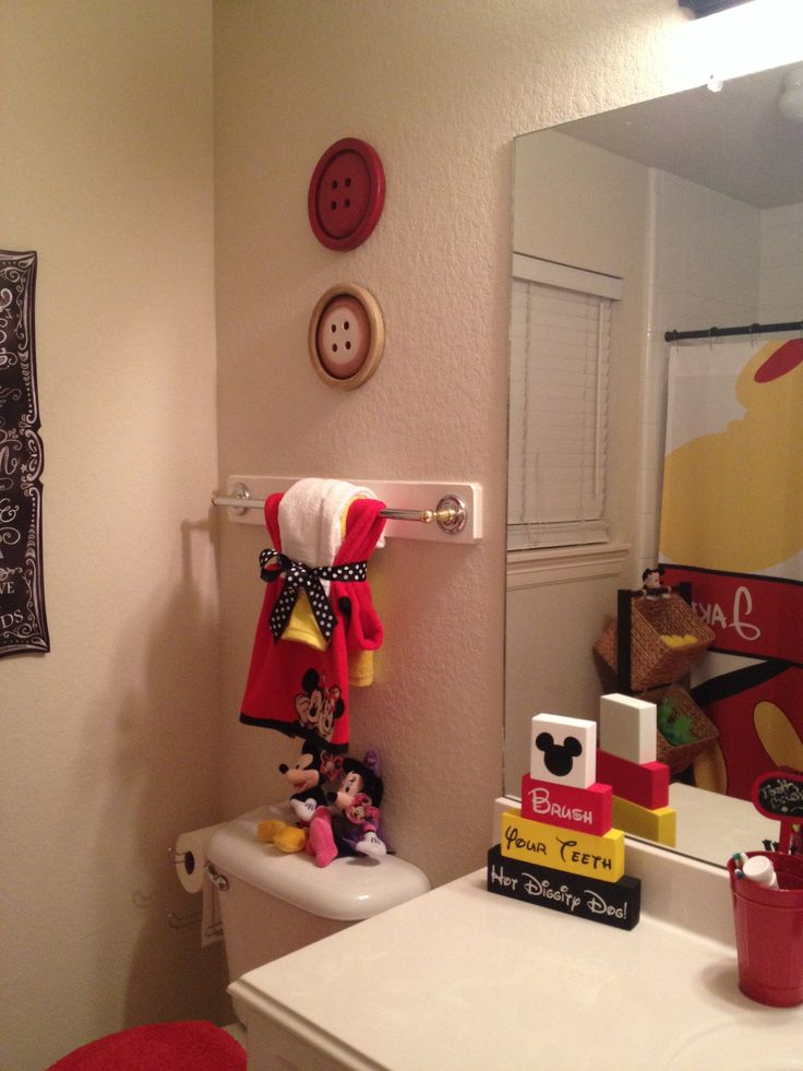 Best 25 Best Ideas About Mickey Mouse Bathroom On Pinterest This Month