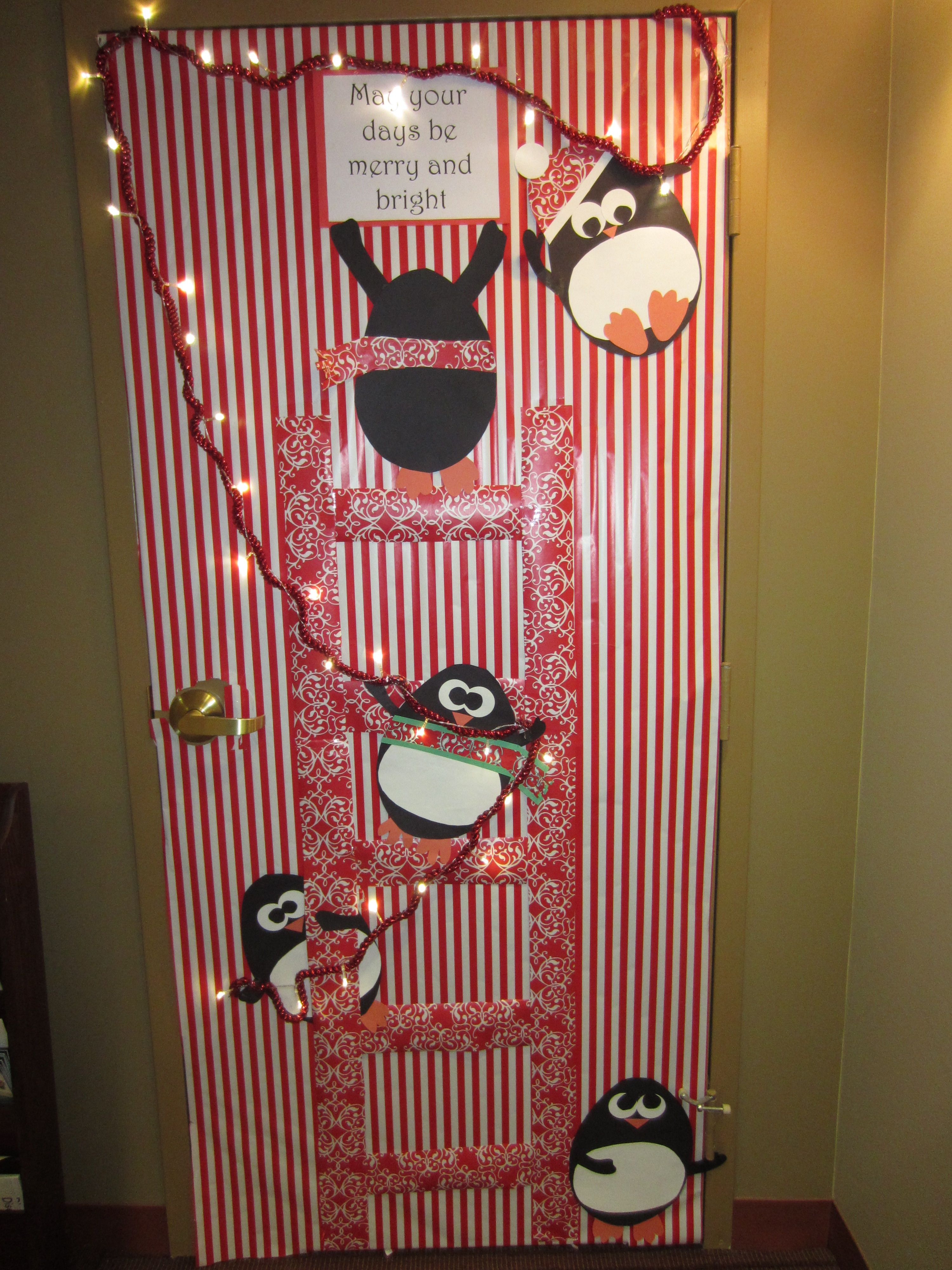 Best Christmas Holiday Door Decoration May Your Days Be This Month