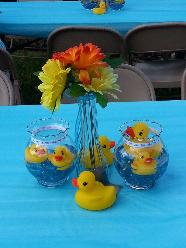 Best Rubber Ducky Centerpieces Rubber Ducky Ideas Pinterest This Month