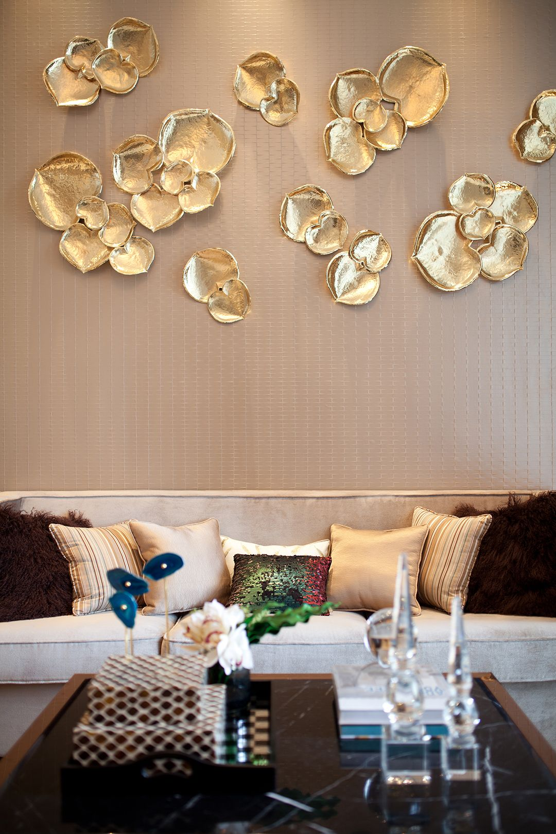 Best Gold On The Walls Home Accessories Pinterest Walls This Month