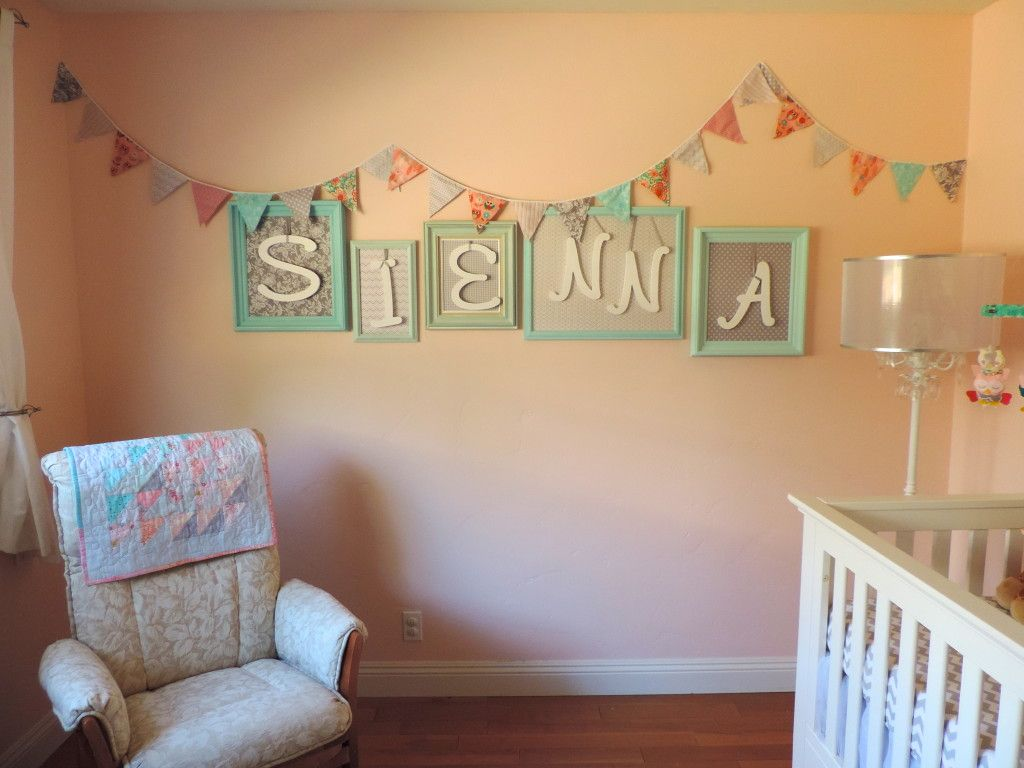 Best Our Baby Sienna S Diy Nursery Wall Decor Frames This Month