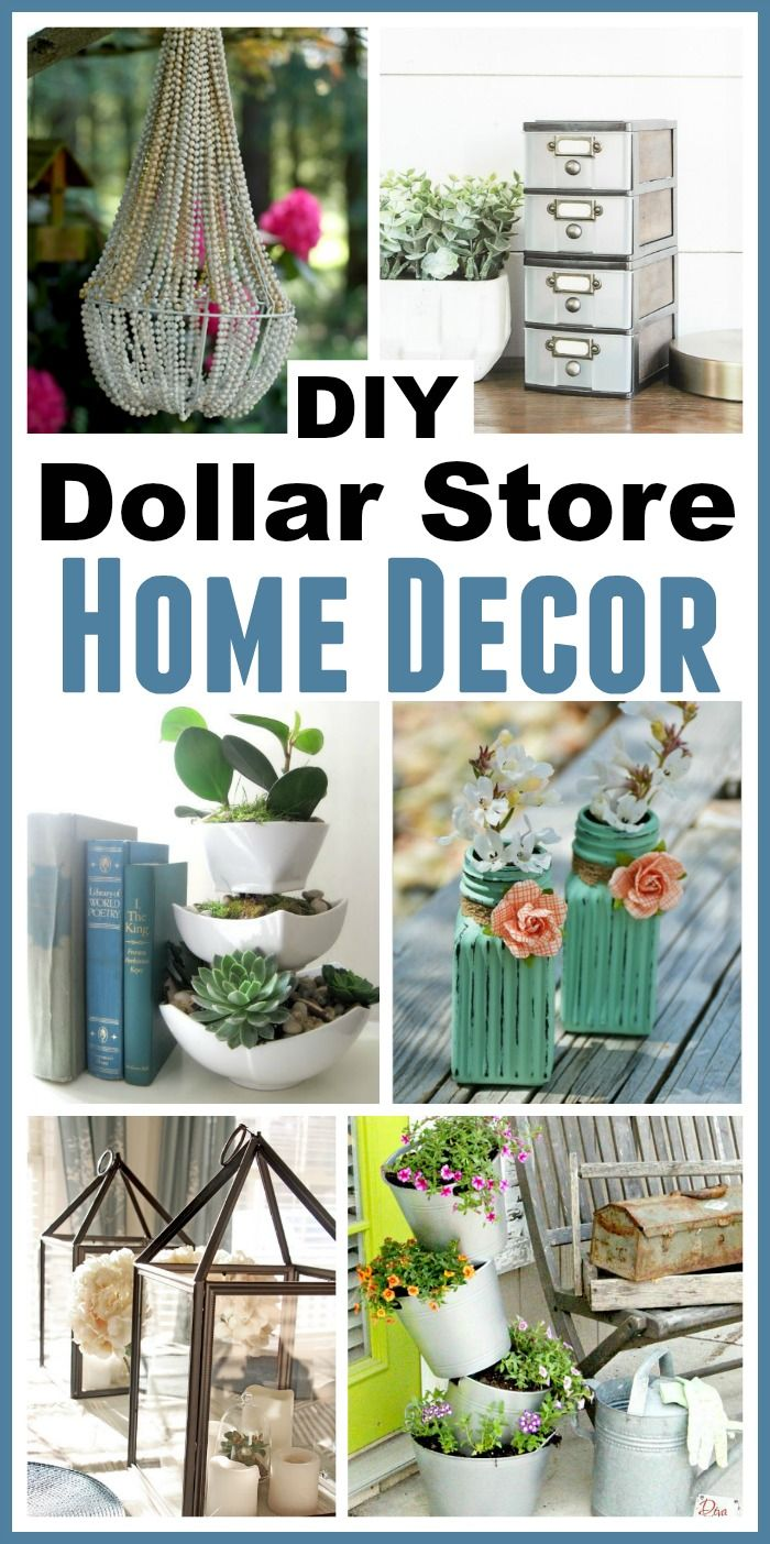 Best Diy Dollar Store Home Decorating Projects Dollar Stores This Month