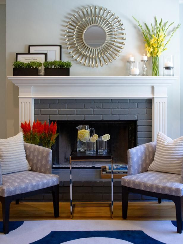 Best Mirror Above Fireplace On Pinterest Oak Wood Trim This Month