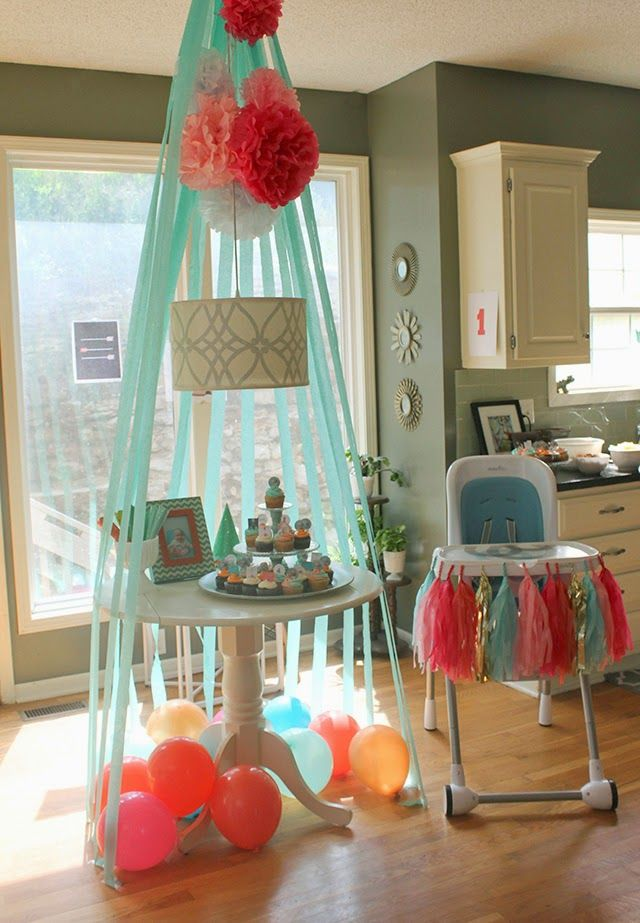 Best Diy Adventure Themed Birthday Party Crepe Paper Teepee This Month