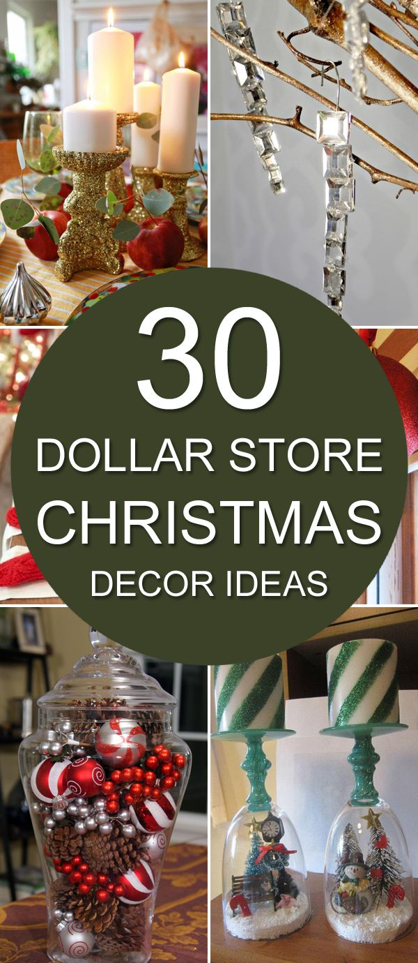 Best 30 Dollar Store Christmas Decor Ideas Dollar Stores This Month
