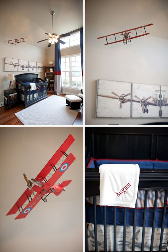Best Vintage Airplane Nursery On Pinterest Airplane Nursery This Month
