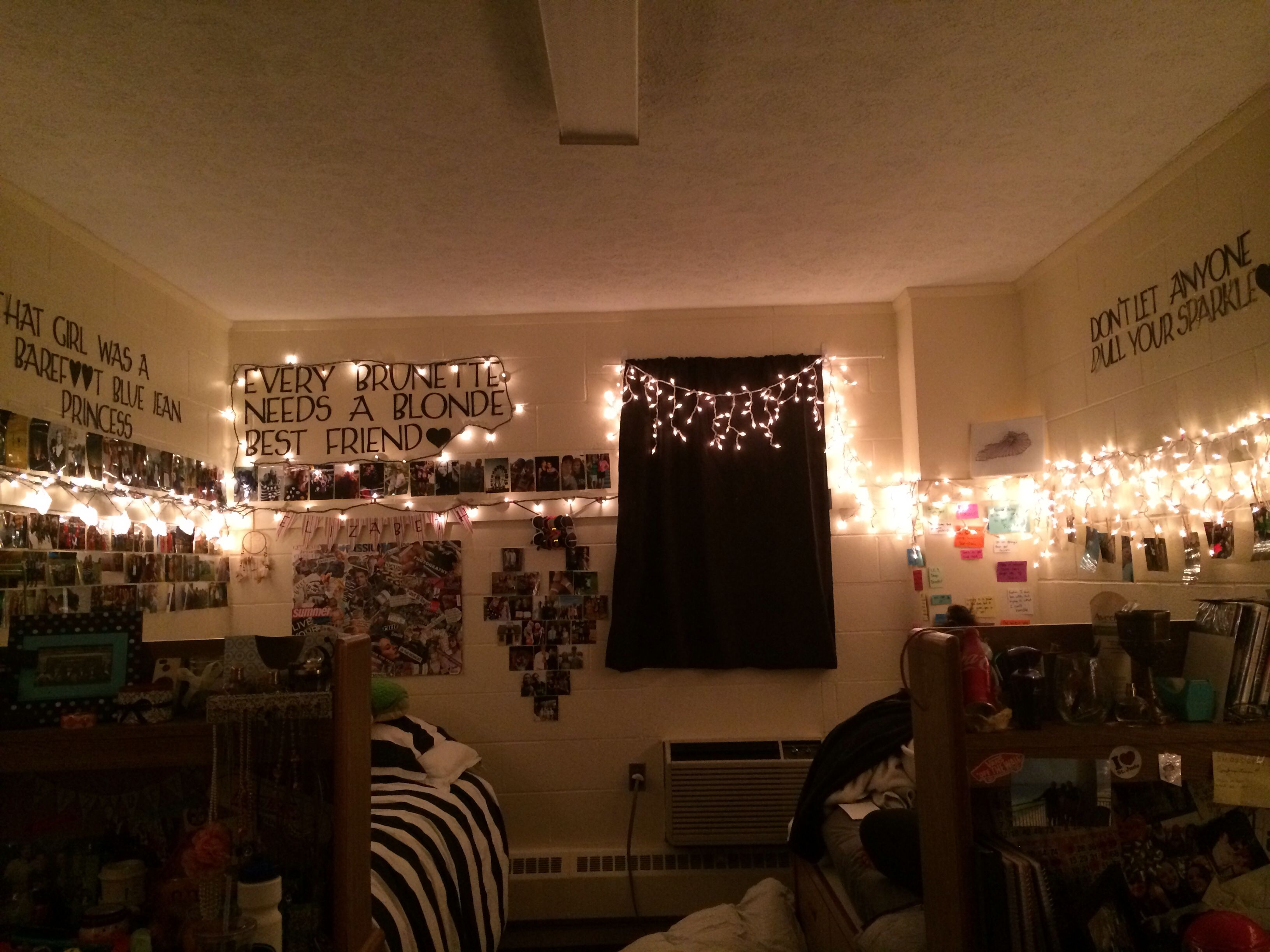 Best Dorm Room Christmas Lights Everywhere College Life This Month