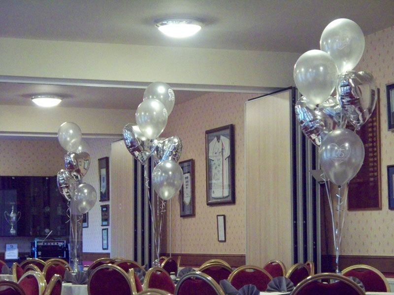 Best 25Th Wedding Anniversary Balloons Three Latex And Two This Month