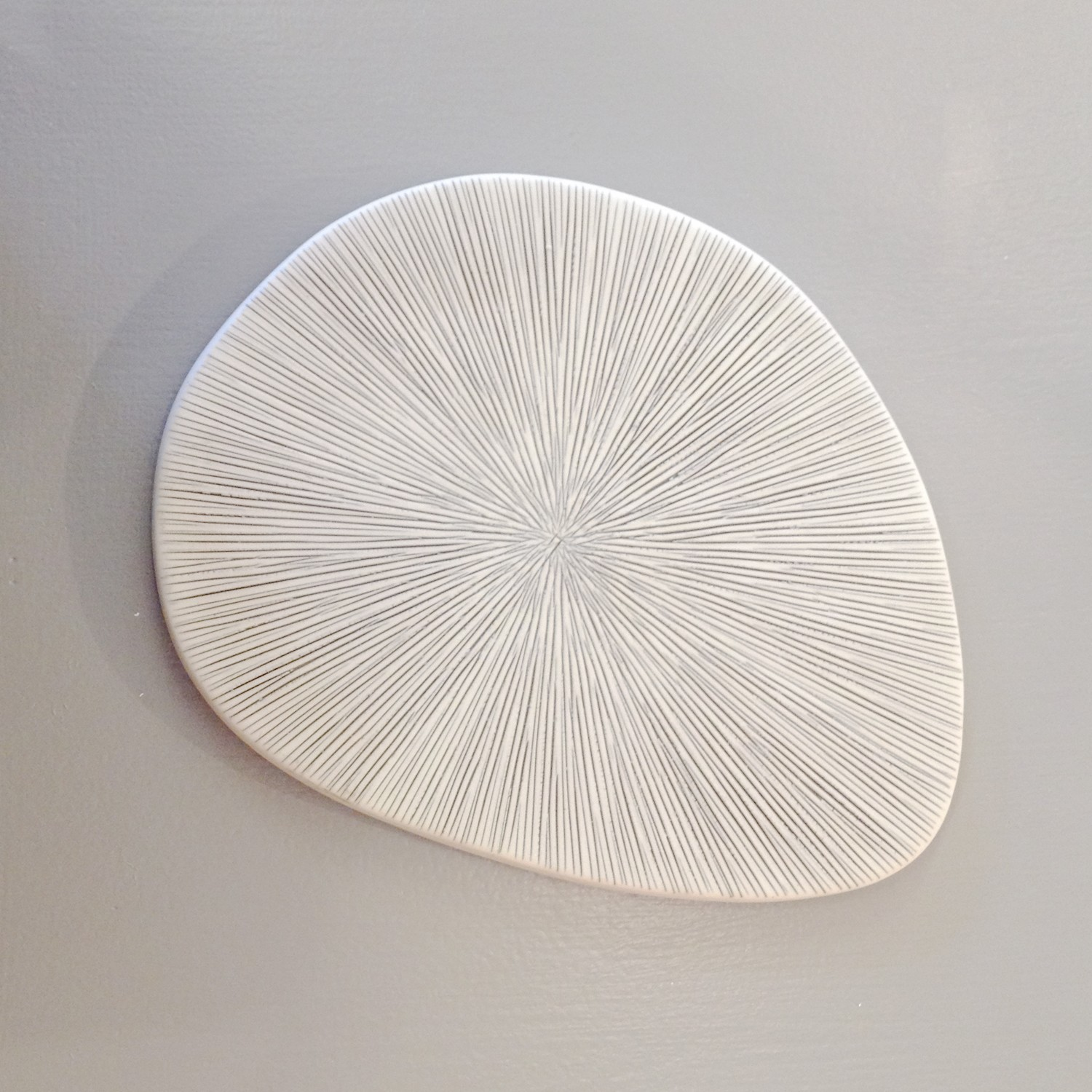 Best Decorative Ceramic Plate Grey And White Lines The Blue This Month