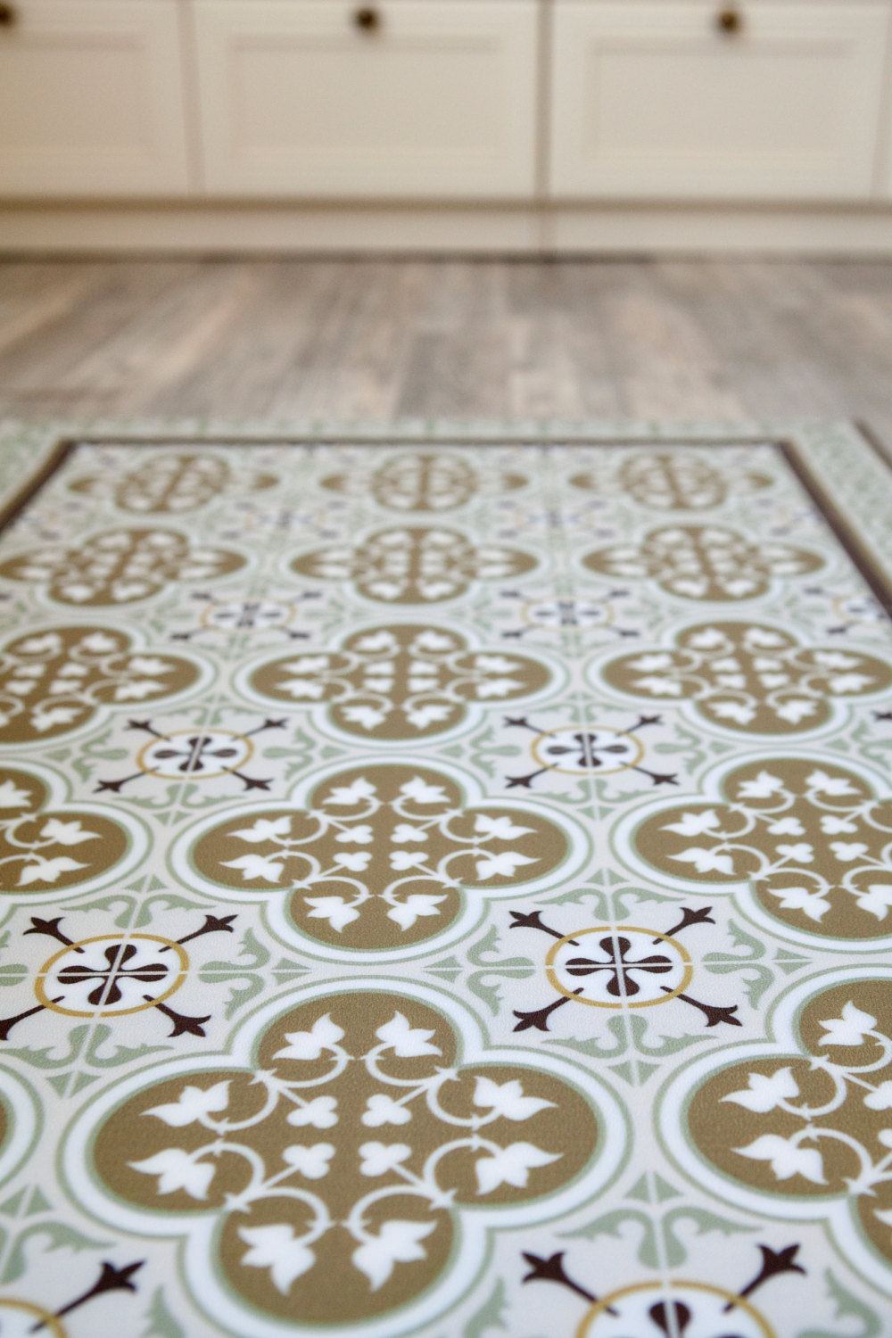 Best Free Shipping Tiles Pattern Decorative Pvc Vinyl Mat This Month