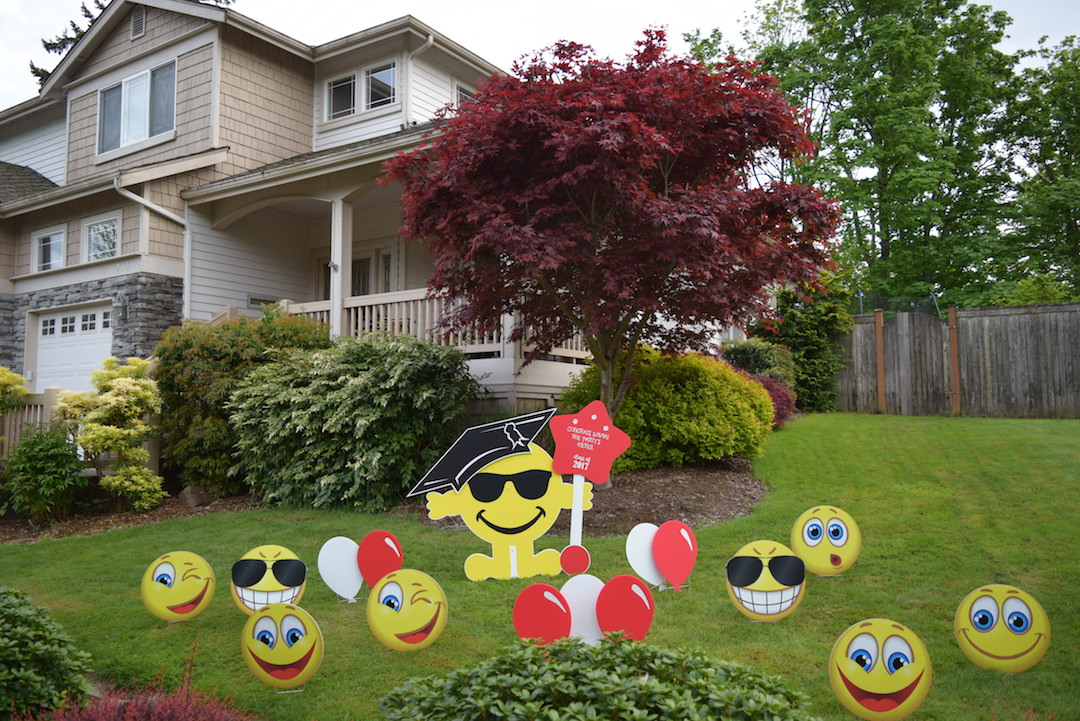 Best Home Yard Announcements This Month