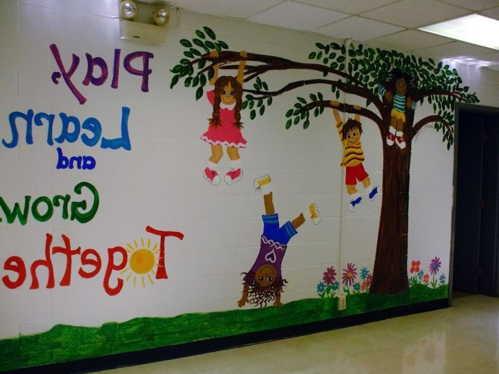Best 15 Photos Preschool Wall Decoration This Month