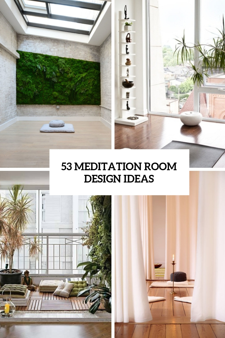 Best 53 Meditation Room Decor Ideas Digsdigs This Month