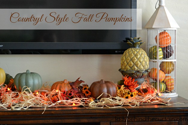 Best Diy Dollar Tree Country Style Fall Pumpkins This Month