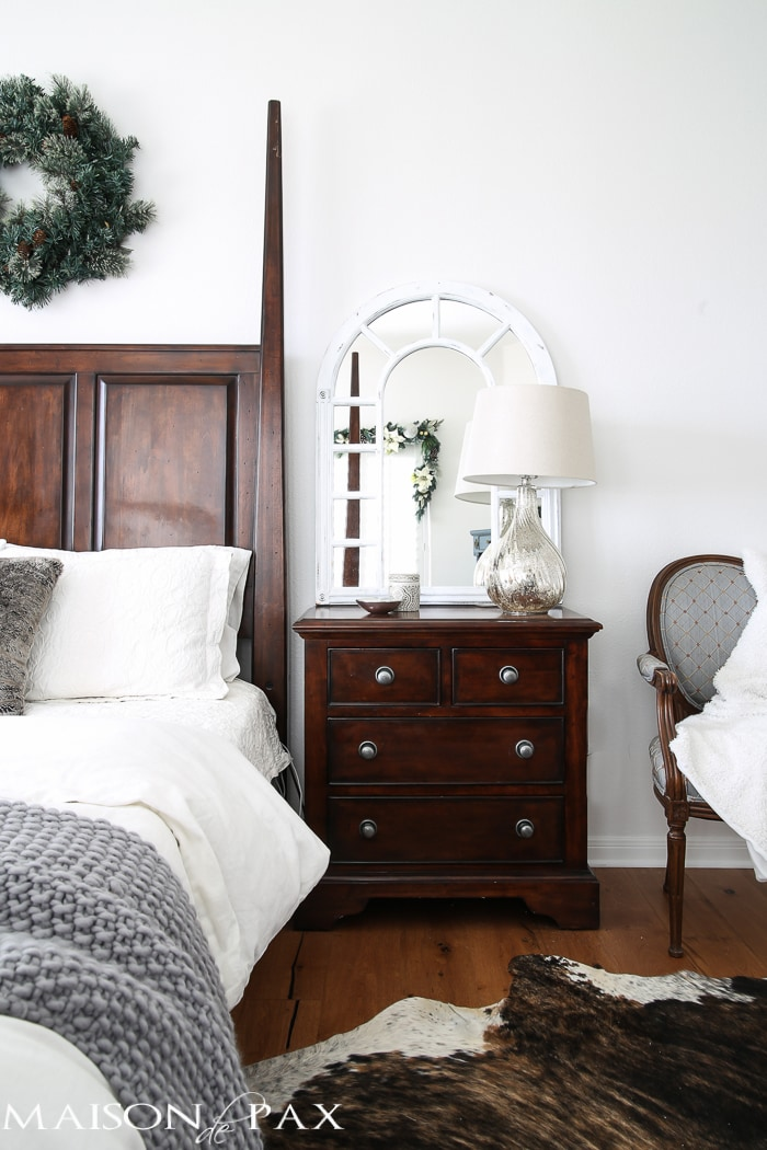 Best White Christmas Master Bedroom Maison De Pax This Month