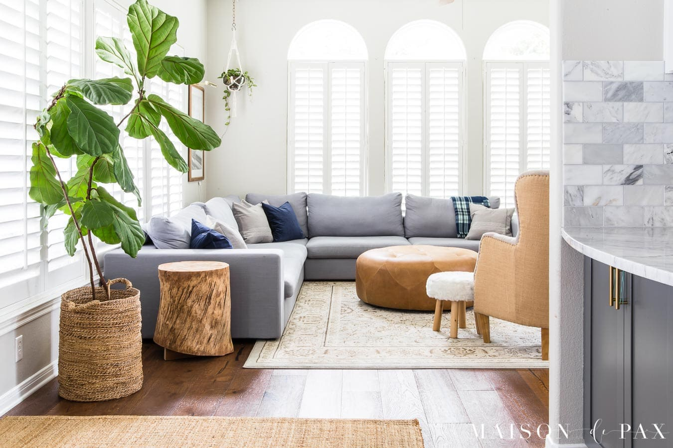 Best Gray Living Room With Simple Fall Decor Maison De Pax This Month