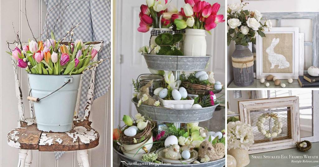 Best 20 Rustic Easter Decorations Bringing A Farmhouse Appeal This Month