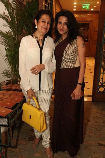 Bubbles Sabharwal with Vandy Mehra