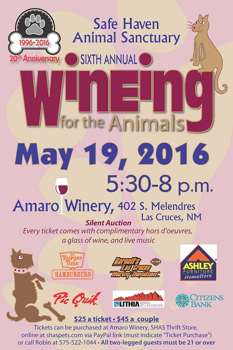 6th Annual Wineing for the Animals