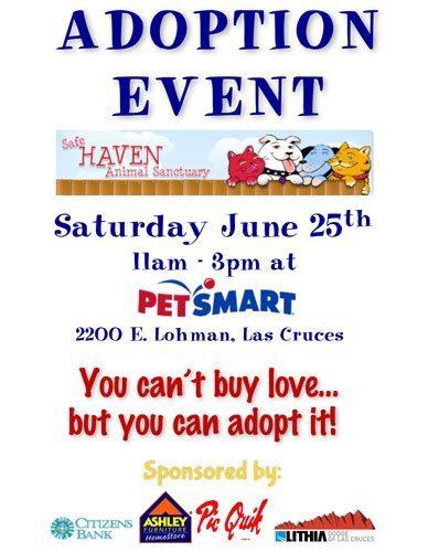 Adoption Event at PetSmart