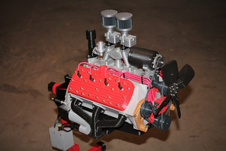 3D Printed Engines and Transmissions