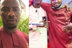 """""""I Will Personally Give You 3000 Dirty Slaps Each, If You Ever Beef Again"""" Kwaku Manu Warns Lilwin And Funny Face ( Video)"""