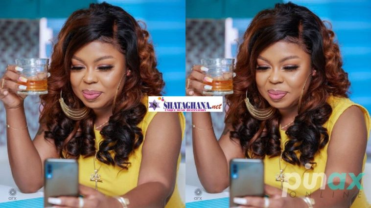 Screenshot: Afia Schwarzenegger shockingly drops names of all the celebrities who bed for S3xz after Mzbel publicly disgraced her