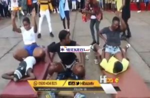 Ghanaian Shs Students Captured Going Crazy During An Entertainment Show