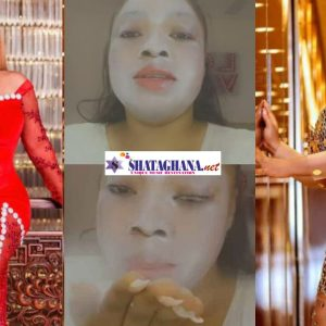 "Moesha Boduong returns from Benin; ""commands"" clients to send her money in new video"