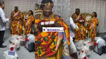 First Videos From Kyeiwaa's White Wedding Happening In America Surfaces Online (Watch)